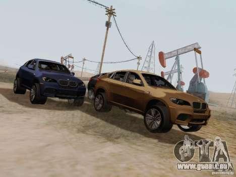 BMW X6M pour GTA San Andreas laissé vue