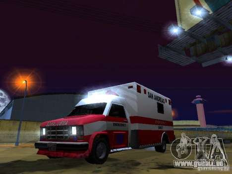 Ambulance 1987 San Andreas für GTA San Andreas