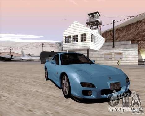 Mazda RX7 2002 FD3S SPIRIT-R (Type RS) pour GTA San Andreas vue arrière
