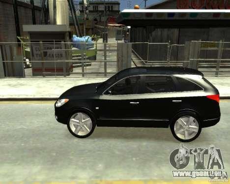 Hyundai IX55 pour GTA 4 Vue arrière de la gauche