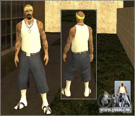 Skin Pack Getto für GTA San Andreas her Screenshot