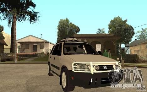 Honda CRV 1997 pour GTA San Andreas vue arrière