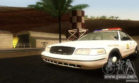 Ford Crown Victoria Utah Police pour GTA San Andreas