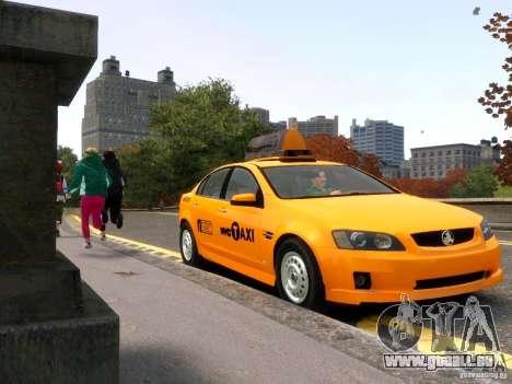 Holden NYC Taxi für GTA 4 Rückansicht