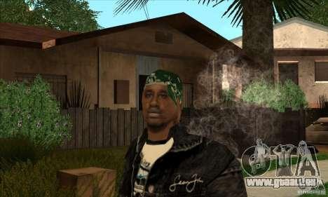Grove Haut 1 Reihen für GTA San Andreas dritten Screenshot