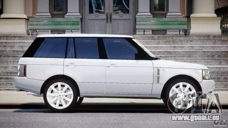 Range Rover Supercharged 2009 v2.0 pour GTA 4 est une vue de l'intérieur