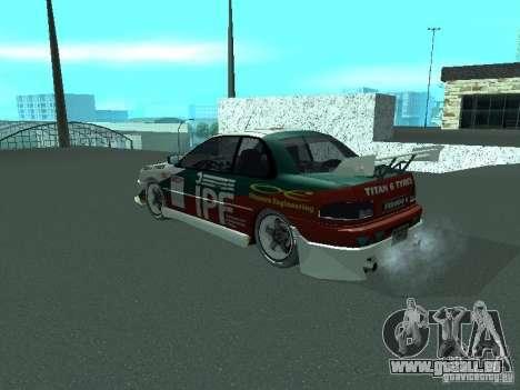Subaru Impreza pour GTA San Andreas moteur