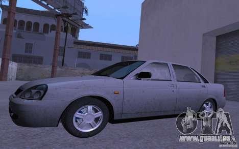 LADA Priora 2170 Pnevmo pour GTA San Andreas laissé vue