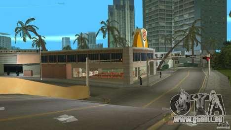 Burgerking-MOD GTA Vice City pour la troisième écran