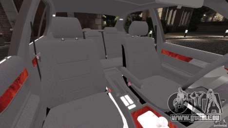 BMW E34 V8 540i pour GTA 4 est une vue de l'intérieur