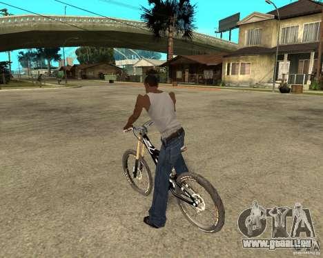 Diamondback strike Beta pour GTA San Andreas laissé vue