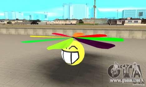 Smiley dans le ciel pour GTA San Andreas