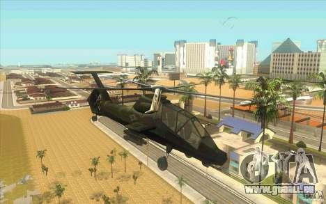 Sikorsky RAH-66 Comanche stealth green für GTA San Andreas