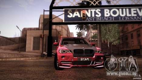BMW X5 with Wagon BEAM Tuning pour GTA San Andreas salon