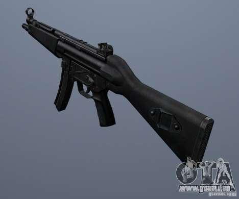 MP5 pour GTA San Andreas deuxième écran
