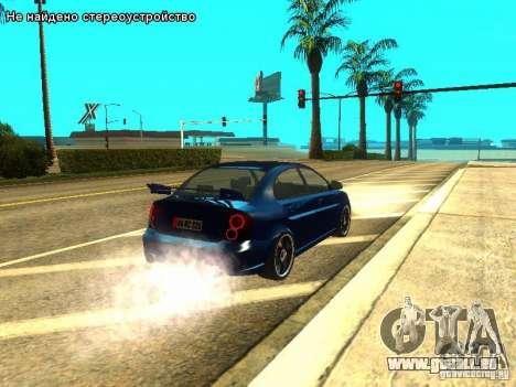 Hyundai Accent Era für GTA San Andreas rechten Ansicht