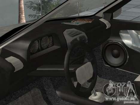 Kalina 1118 VAZ pour GTA San Andreas vue de droite
