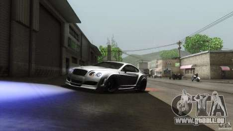 Bentley Continental GT Premier4509 2008 Final für GTA San Andreas Innenansicht