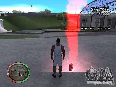 Dynamite MOD pour GTA San Andreas deuxième écran