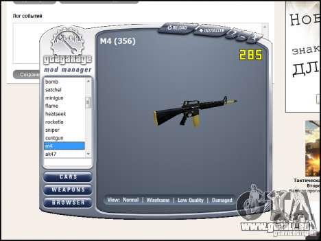 Weapon pack pour GTA San Andreas septième écran