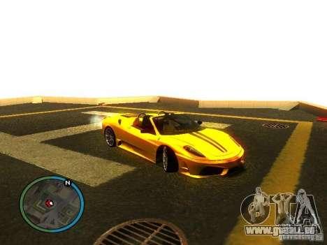 Ferrari F430 Scuderia M16 2008 für GTA San Andreas Räder