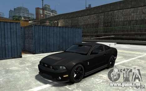 Ford Shelby GT500 v.1.0 für GTA 4