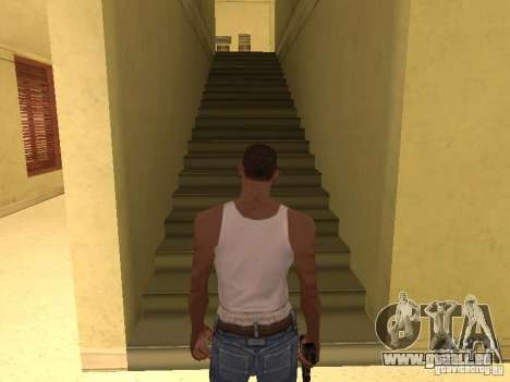 L'entrée à l'hôpital de Los Santos pour GTA San Andreas neuvième écran