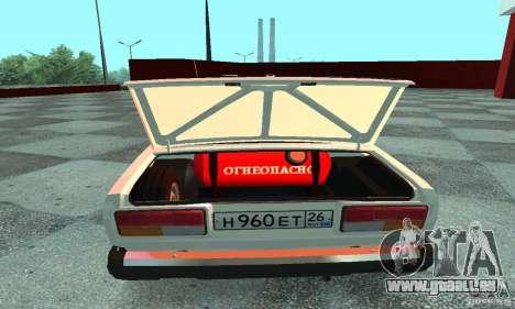 VAZ 2107 v. 3 für GTA San Andreas rechten Ansicht