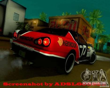 Need for Speed Elegy pour GTA San Andreas sur la vue arrière gauche