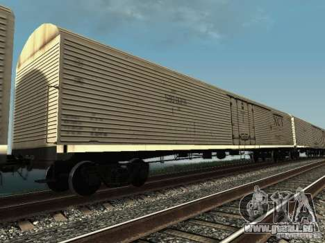 Wagon isotherme HST pour GTA San Andreas