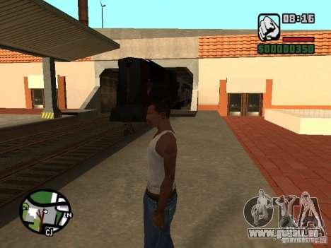 Verbinden Sie Zug aus dem Spiel Half-Life 2 für GTA San Andreas