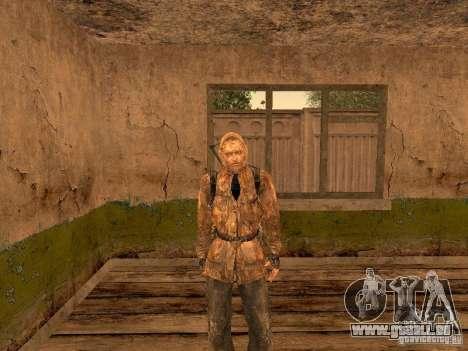 Haut-Narbe von einem stalker für GTA San Andreas zweiten Screenshot