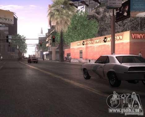 ENBSeries pour Ultra Pack Vegetetions pour GTA San Andreas troisième écran