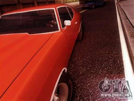 Chevy Chevelle SS 1970 für GTA San Andreas rechten Ansicht