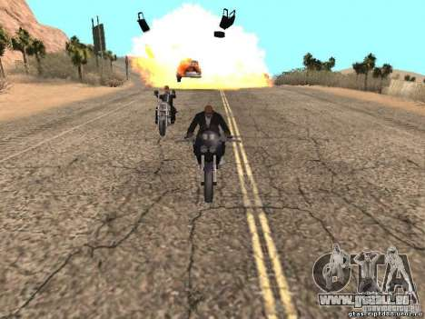 Bombe pour GTA San Andreas huitième écran