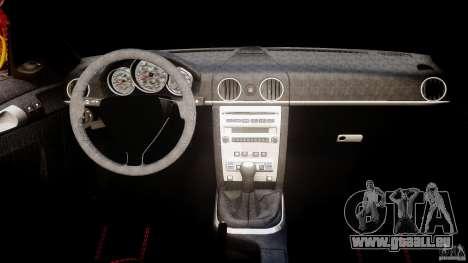 Ruf RK Spyder v0.8Beta für GTA 4 rechte Ansicht