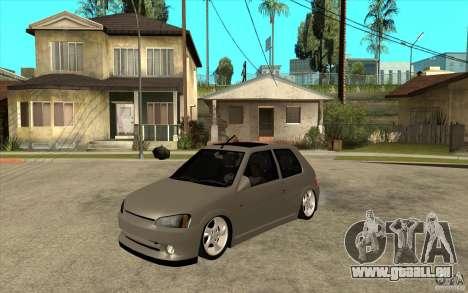 Peugeot 106 Reptile pour GTA San Andreas