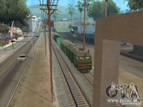 VL80K-548 pour GTA San Andreas laissé vue