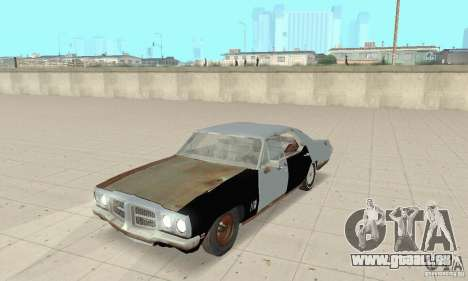 Pontiac LeMans 1970 Scrap Yard Edition pour GTA San Andreas