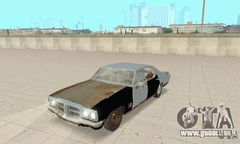 Pontiac LeMans 1970 Scrap Yard Edition für GTA San Andreas
