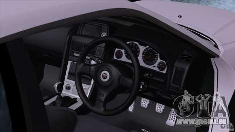 Nissan Skyline GTR-34 M-spec Nur für GTA San Andreas rechten Ansicht