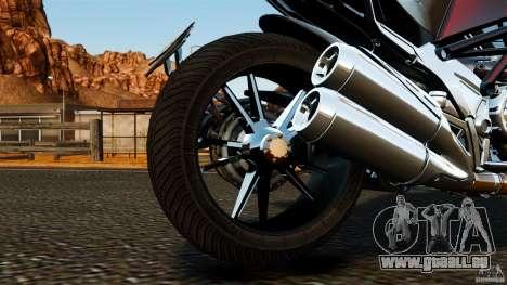 Ducati Diavel Carbon 2011 pour GTA 4 est une vue de l'intérieur