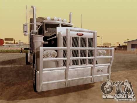 Peterbilt 378 Custom für GTA San Andreas linke Ansicht