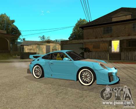 Porsche 911 Turbo Grip Tuning für GTA San Andreas rechten Ansicht