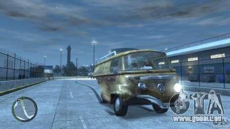 VW Transporter T2 pour GTA 4 est un côté