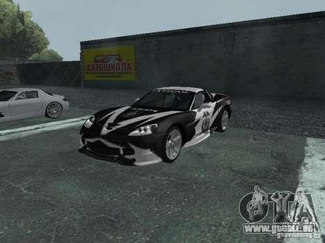 Chevrolet Corvette C6 für GTA San Andreas Räder