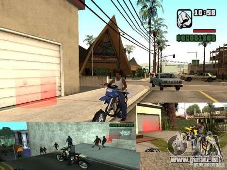 Le script CLEO : Mototûning et Freestyle Motocro pour GTA San Andreas