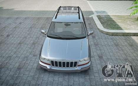 Jeep Grand Cheroke für GTA 4 Rückansicht