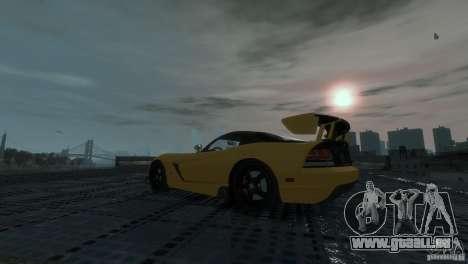 Dodge Viper SRT-10 ACR 2009 pour GTA 4 est un droit