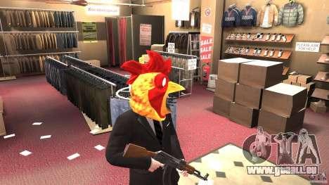 CluckingBell Hat für GTA 4 Sekunden Bildschirm